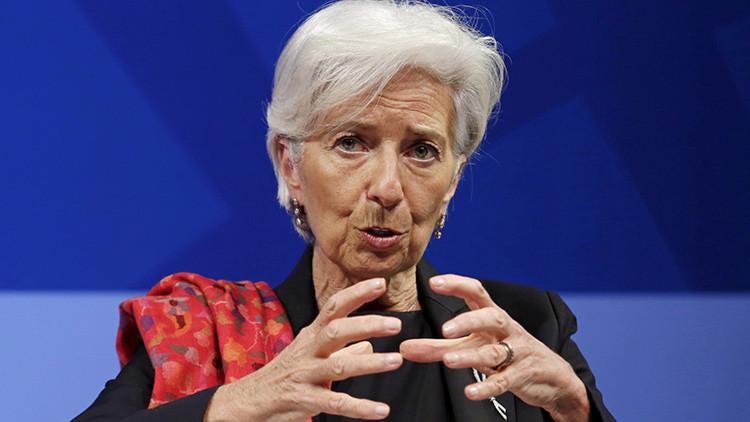 Lagarde: Trump y el 'Brexit' son peligrosos para la economía global