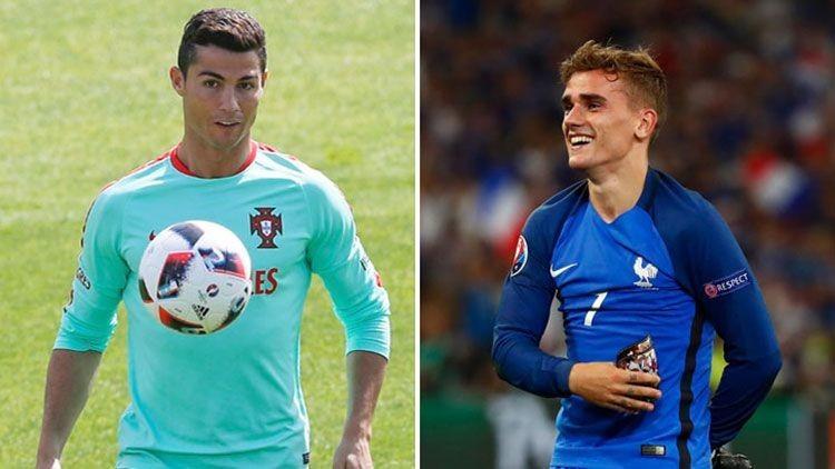 Lucha de titanes: Ronaldo y Griezmann buscan hacer historia en la final de la Eurocopa (Infografía)