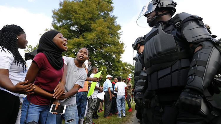 Las protestas en Baton Rouge