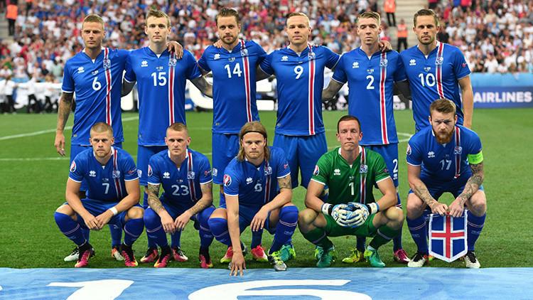Entre montañas y azotados por el viento: así se entrenan los futbolistas en Islandia (FOTOS)