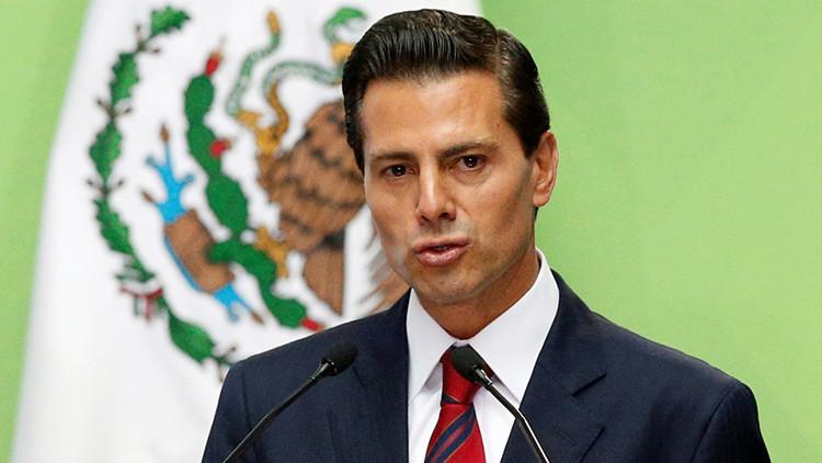 """Peña Nieto: """"No hay manera de que México"""" pague por el muro de Trump"""