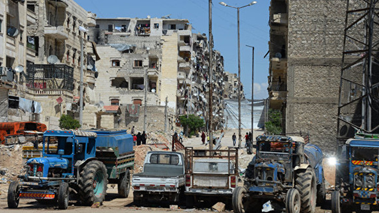 VIDEO: Ataques terroristas en Alepo dejan al menos 8 muertos y 80 heridos