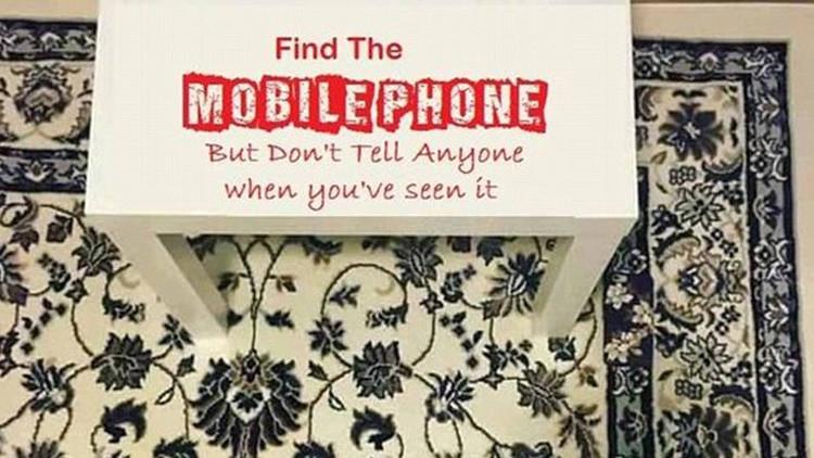 No es tan fácil como parece: ¿Podrías detectar un móvil escondido en una alfombra?
