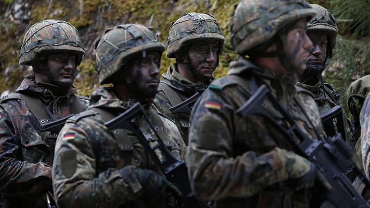 Soldados del ejército alemán