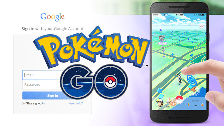 Pokémon Go se apodera 'por error' de las cuentas de Google de sus usuarios