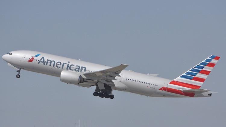 Un avión de American Airlines con ruta Londres-Nueva York declara una emergencia a bordo
