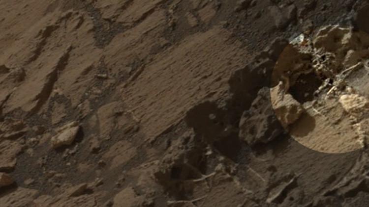 Hallan en Marte el 'esqueleto de un rey'