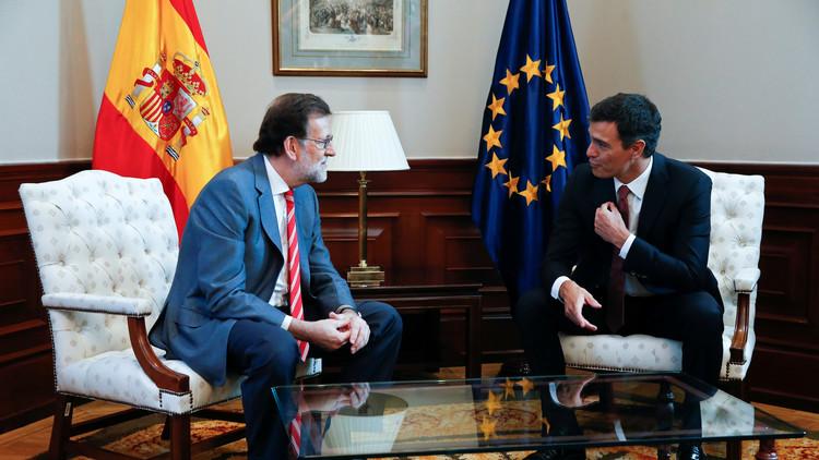 """Pedro Sánchez: """"Entre los aliados potenciales de Rajoy no está el PSOE"""""""
