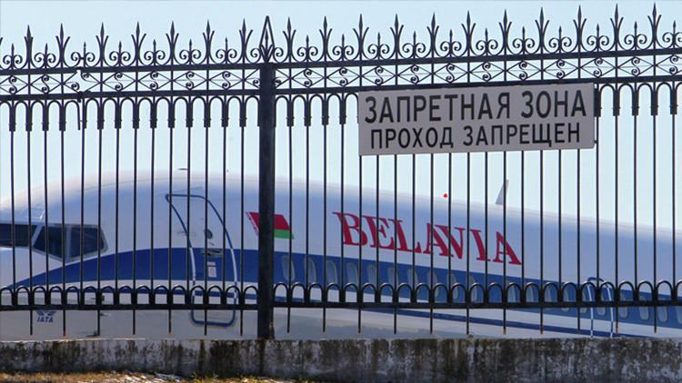Dos aviones de pasajeros colisionan en la pista del aeropuerto de Minsk