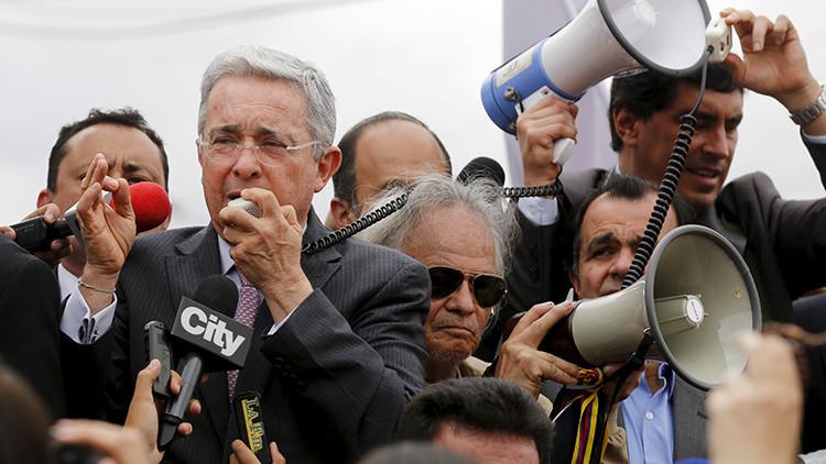 Álvaro Uribe, el 'representante de la guerra' en Colombia