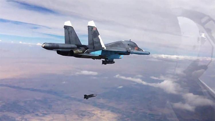 """""""Las fuerzas aéreas rusas en Siria no emplean armas químicas"""""""