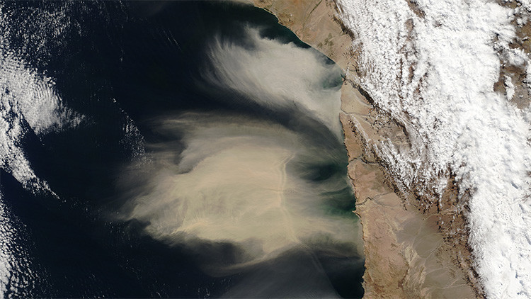 Esta es la foto del norte de Chile que preocupa a la NASA