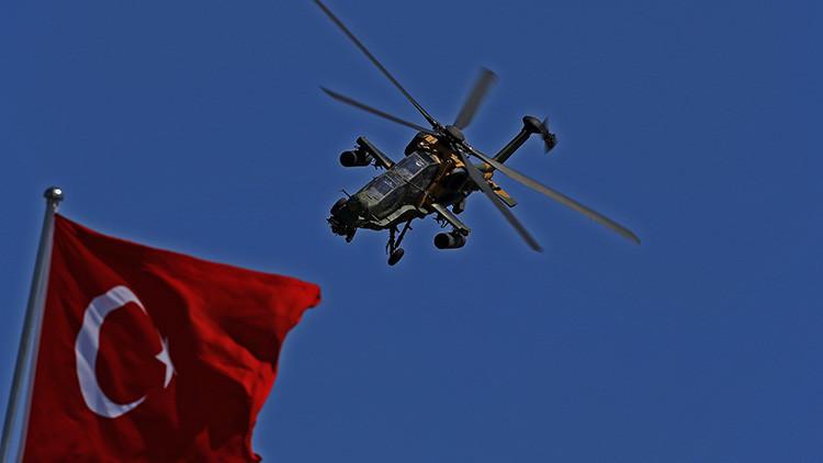 Ankara: Un helicóptero militar abre fuego cerca de un edificio de inteligencia nacional