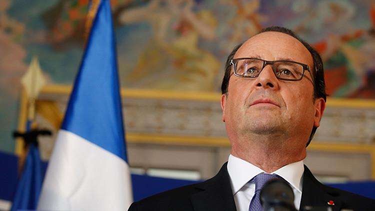 """""""La promesa de Hollande continúa el círculo vicioso de terror y guerra de Occidente"""""""