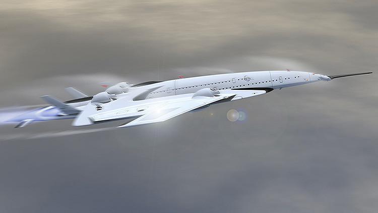 De Londres a Nueva York en 3 horas: Así será el primer avión propulsado por energía nuclear