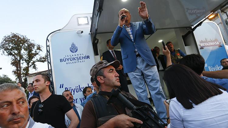 Recep Tayyip Erdogan, presidente de Turquía, durante su discurso en Estambul, Turquía, el 16 de julio de 2016.