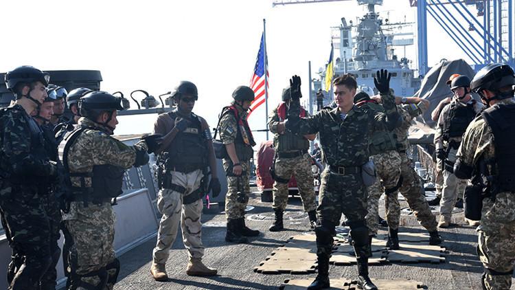 La OTAN inicia ejercicios en Ucrania cerca de las bases rusas del mar Negro