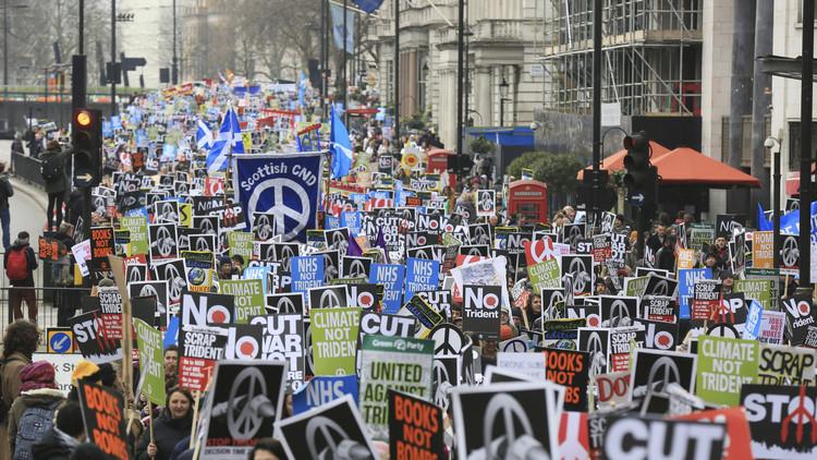 El Parlamento británico vota a favor de renovar el programa nuclear Trident