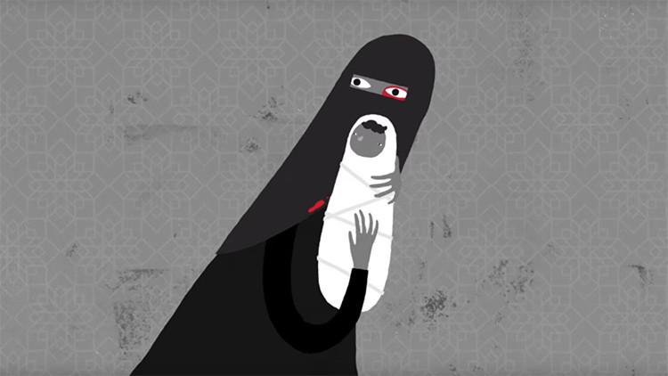 La cruel realidad de las mujeres sauditas en los dibujos animados de Human Rights Watch (videos)