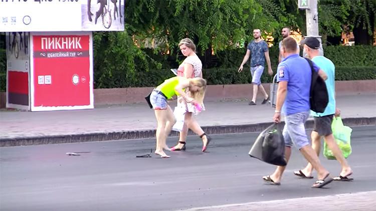 VIDEO: Una ola de calor derrite el asfalto en el sur de Rusia