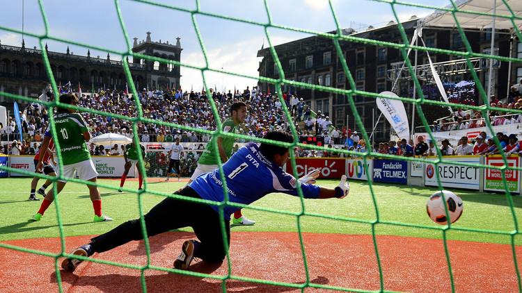 México se corona en la Homeless World Cup 2016 para niños pobres y con adicciones