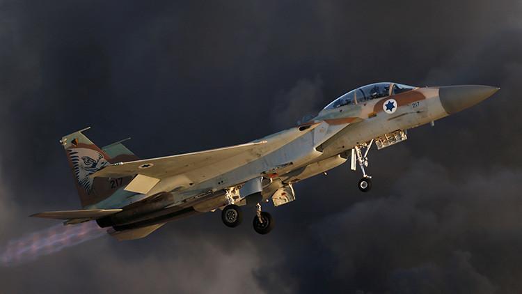 Israel ataca posiciones del Ejército sirio cerca de los Altos del Golán