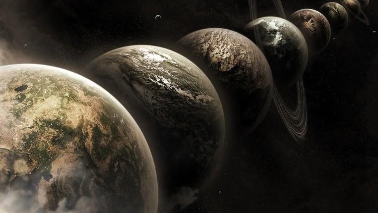 ¡No se pierda el gran desfile de planetas!