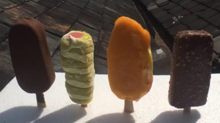 5 millones de personas ven en vivo una épica competición entre helados