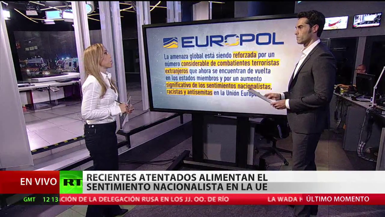 Califican el 2015 como el año con más actividad terrorista en la Unión Europea