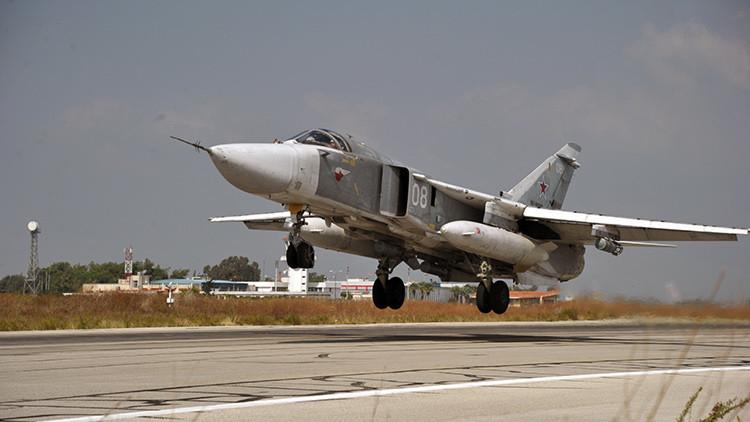 """Partido gobernante de Turquía: """"Fue el piloto el que decidió derribar el Su-24 ruso"""""""