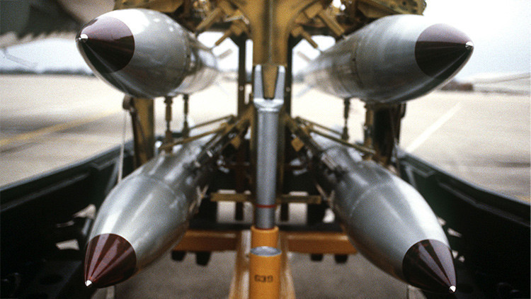 """""""EE.UU. tiene armas nucleares letales por toda Europa sin ningún motivo"""""""