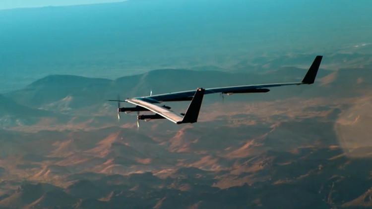 """""""Un gran hito"""": Facebook prueba un dron que proveerá Internet (Video)"""