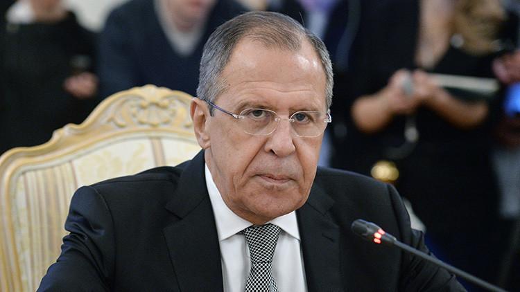 """Lavrov: """"La OTAN quiere abarcar cada vez más países y desligarlos de Rusia"""""""