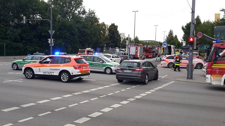 Las primeras imágenes del tiroteo en un centro comercial de Múnich