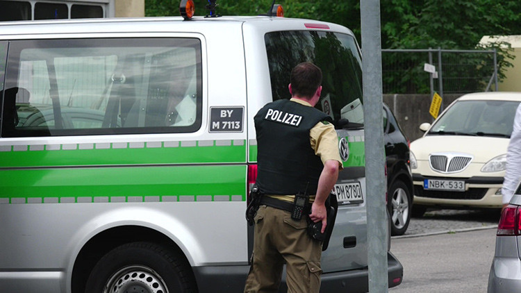 Publican la primera imagen del presunto atacante en Múnich