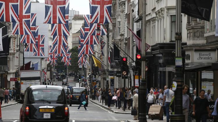 Calle Bond Street en el centro de Londres