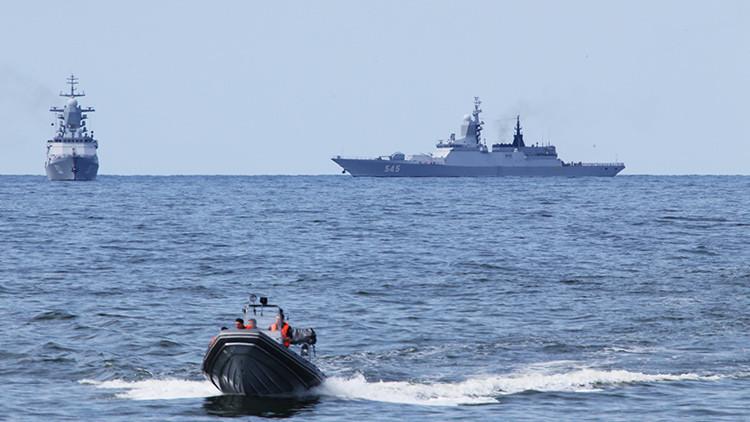 Más de 100 buques y submarinos de la Flota del Norte rusa realizan ejercicios militares