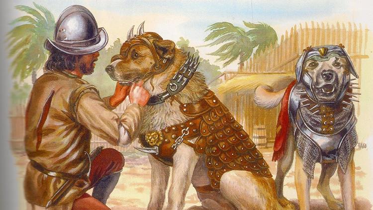 """El 'arma definitiva' de los conquistadores españoles que infundía una """"insoportable forma de terror"""""""