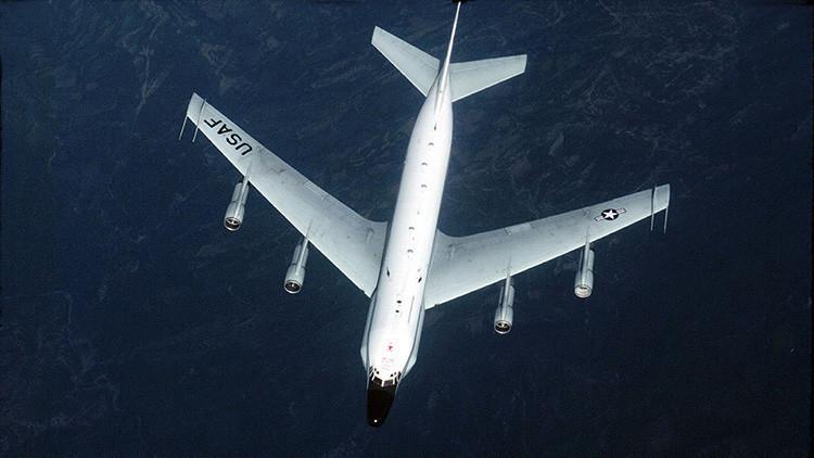 Un avión espía de la Fuerza Aérea de EE.UU. se acerca a las fronteras rusas en el Báltico