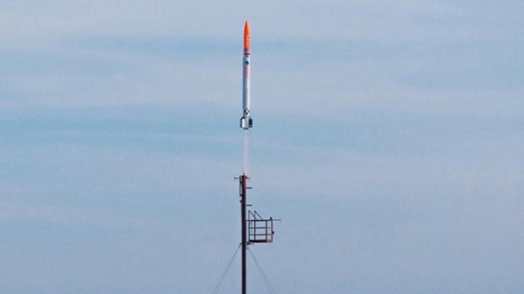 Un cohete espacial danés financiado por aficionados se estrella en el Báltico (Video)