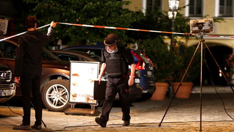 El atacante del restaurante de Ansbach es un sirio al que se le había denegado asilo