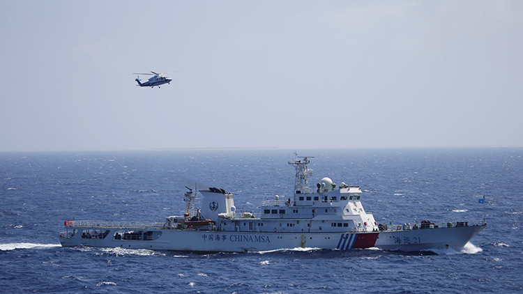Mapa: China insta a Japón a no intervenir en el conflicto sobre el mar de la China Meridional
