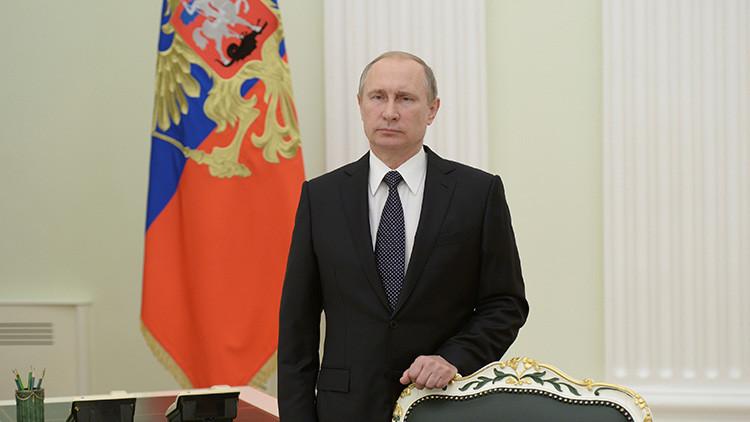 """Putin: """"La situación en Oriente Medio y el norte de África se ha deteriorado gravemente"""""""