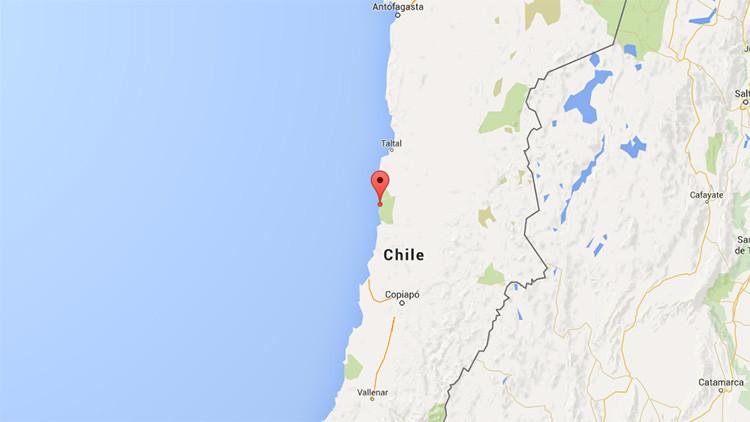 Un fuerte terremoto de magnitud 6,2 sacude Chile