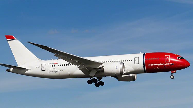Un avión que despegó de Copenhague rumbo a EE.UU. cambia de ruta por causas desconocidas