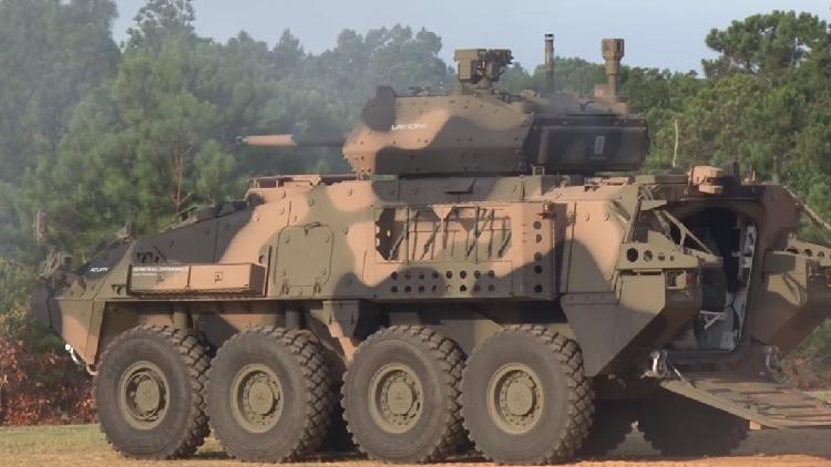 Video: EE.UU. prueba sus vehículos blindados de reconocimiento más modernos con cañones de 30 mm