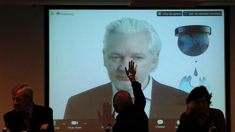 Assange niega la participación de Rusia en el 'hackeo' de los servidores del Partido Demócrata