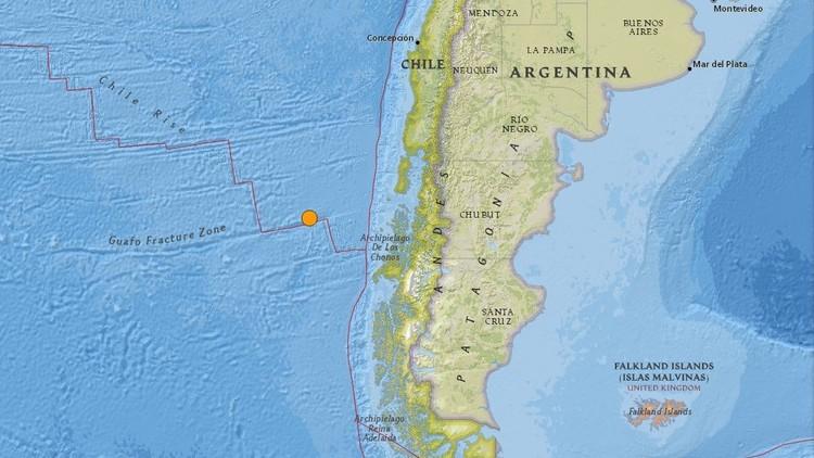 Un sismo de magnitud 6,3 sacude el sur de Chile