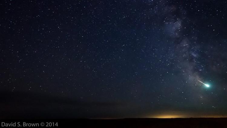 La lluvia de estrellas Delta Acuáridas alcanza su apogeo