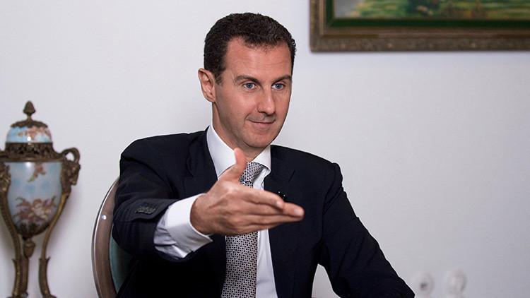 """Al Assad: """"Los terroristas no dirigen la guerra contra el presidente sirio, sino contra el pueblo"""""""
